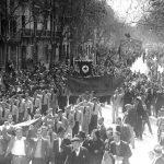 Manifestación Comunista
