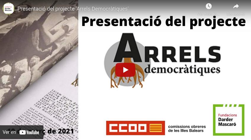 Presentació Arrels democràtiques