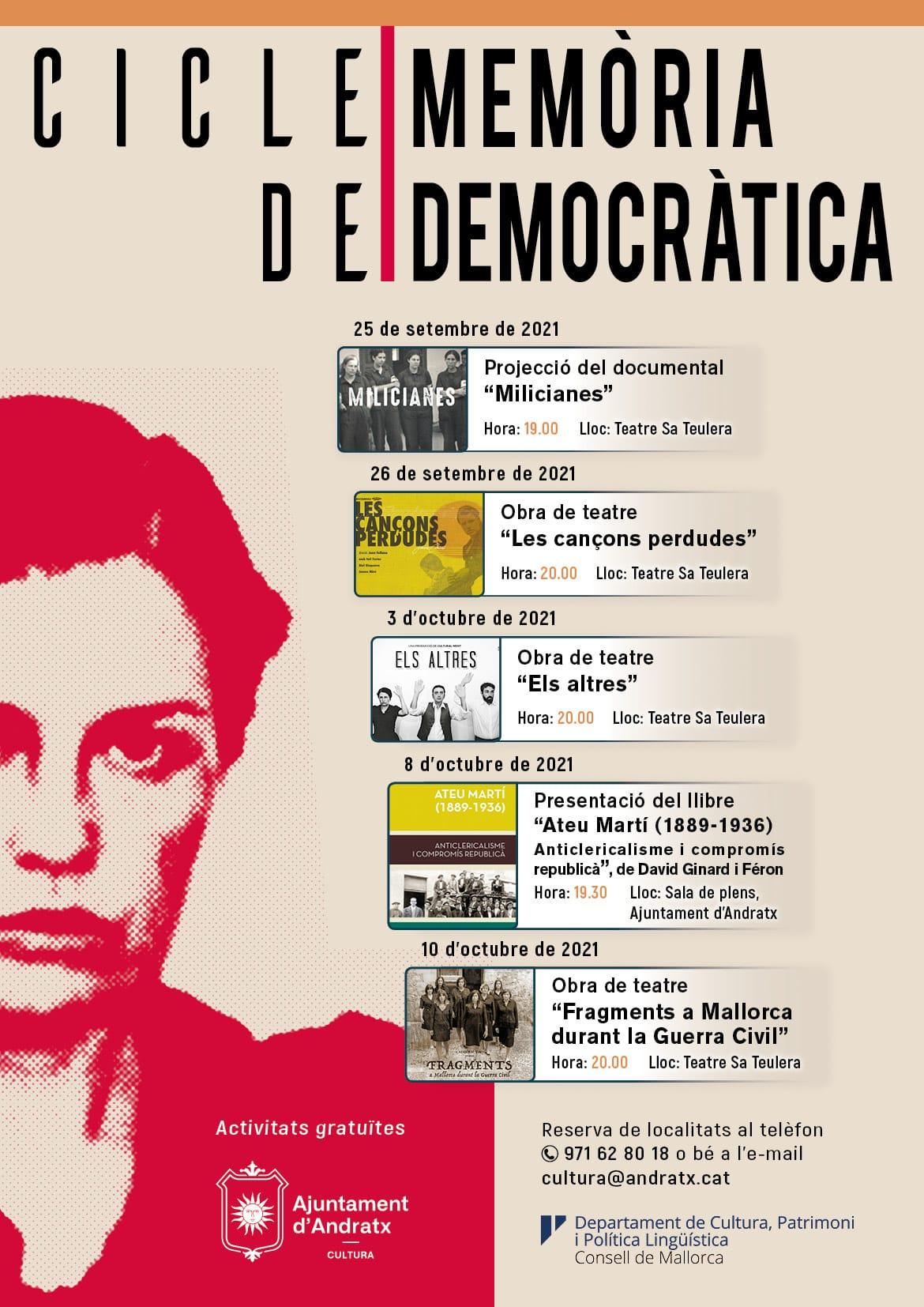 """Presentació del llibre """"Ateu Martí (1889-1936) Anticlericalisme i compromís republicà"""""""