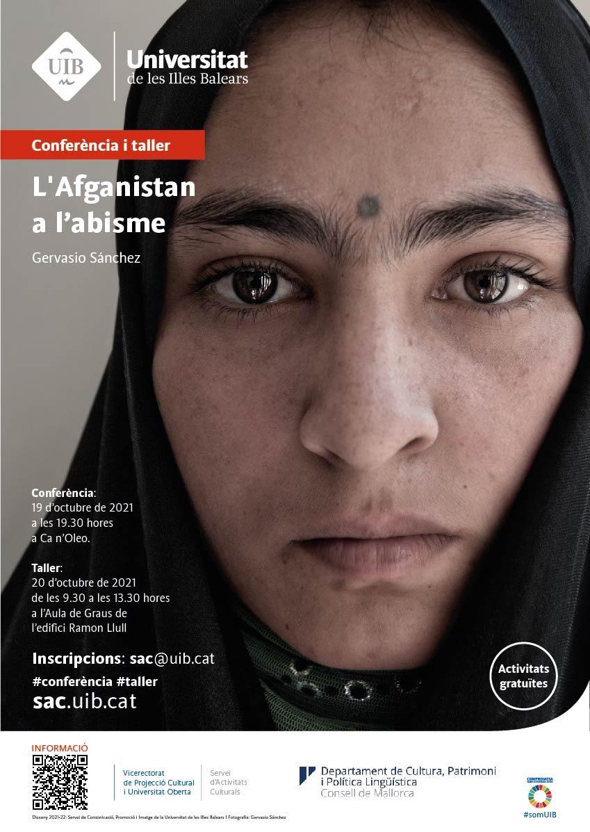 L'Afganistan a l'abisme a càrrec de Gervasio Sánchez