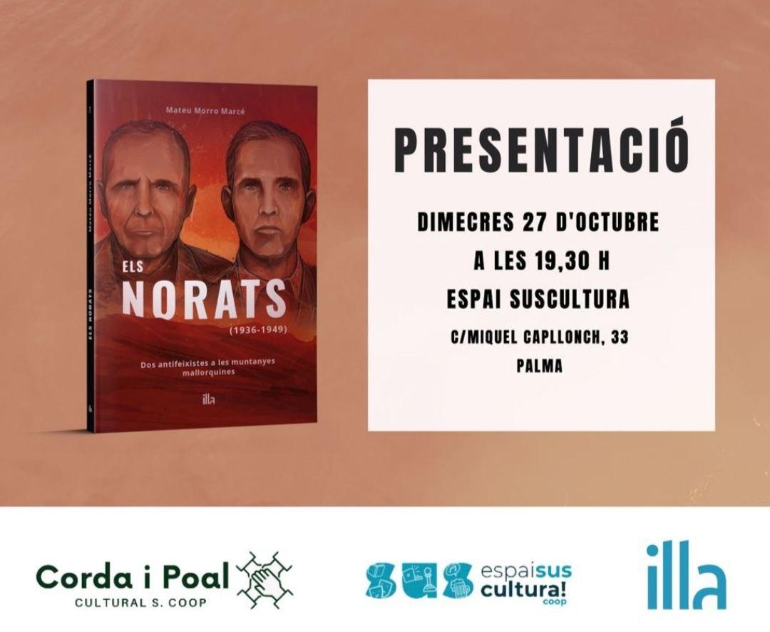 """Presentació del llibre """"Els Norats"""""""